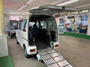 ダイハツ ハイゼットカーゴ  スローパー 4WD 福祉車両 キーレスエントリー