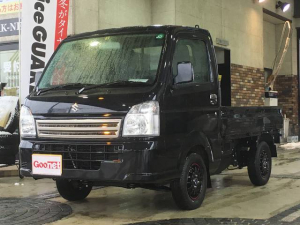 スズキ キャリイトラック KCエアコン・パワステ 4WD 5速マニュアル 三方開