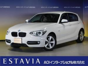BMW 1シリーズ 116i スポーツ HDDナビ バックカメラ フルセグTV