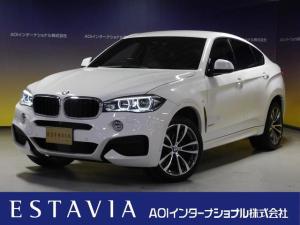 BMW X6 xDrive 35i Mスポーツ リアエンターテイメント