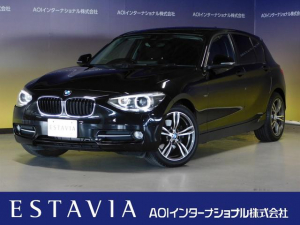BMW 1シリーズ 116i スポーツ Bカメラ Rソナー HDDナビ ETC
