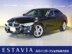BMW 3シリーズ 320d Mスポーツ 純正HDDナビ 追従クルコン 純正18インチAW キセノン バックカメラ