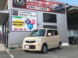 日産 モコ S ナビ 軽自動車 ミルクティーベージュM CVT 保証付