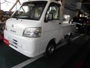 ダイハツ ハイゼットトラック エアコン・パワステ スペシャル 三方開 4WD タイヤ新品