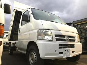 ホンダ アクティトラック ダンプ 4WD マニュアル車 ラジオ エアコン付き
