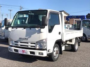 いすゞ エルフトラック 4WD 全低床ダンプ 2t
