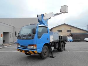いすゞ エルフトラック 高所作業車 タダノAT100TG 5速マニュアル