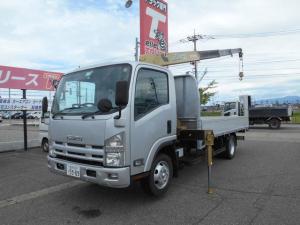 いすゞ エルフトラック  3.5トン ワイドロング タダノ4段クレーン ラジコン アルミブロック 2.9t吊アルミアオリ 6速マニュアル