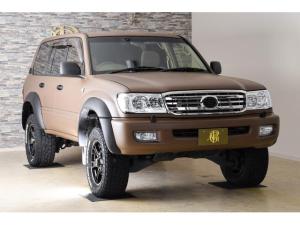 トヨタ ランドクルーザー100 VXリミテッド ディーゼルターボ 4WD HDDナビ バックカメラ ETC クルコン 社外AW (ブラウン)