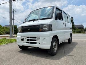 三菱 ミニキャブバン CD ハイルーフ 4WD パワステ エアB 記録簿