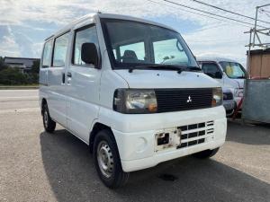 三菱 ミニキャブバン CD ハイルーフ 4WD パワステ エアバック