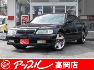 日産 シーマ 41LX VIP 本革 社外19AW 買取車