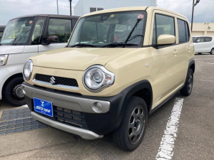 スズキ ハスラー G メモリーナビ フルセグTV Bluetooth対応 スマートキー プッシュスタート オートエアコン 電動格納ミラー シートヒーター アイドリングストップ