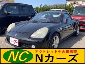 トヨタ MR-S Sエディション AW オーディオ付 2名乗り ブラック