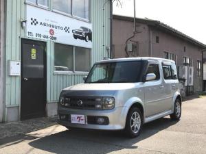 日産 キューブ アジャクティブ 4WD CD キーレス アルミ 4速AT