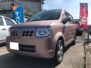 日産 オッティ S 軽自動車 ピンク 5速MT AC 4名乗り 記録簿