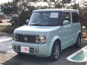 日産 キューブ 14S FOUR 4WD キーレス CD MD アルミ