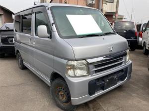 ホンダ バモス ターボ 4WD 軽自動車 シルバー