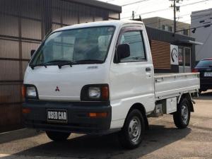 三菱 ミニキャブトラック 切り替え4WD オートマ 三方開 荷台マット