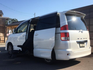 トヨタ ノア S ウェルキャブ 2列目リフトアップシート 7人乗り 福祉車両 ナビ TV バックカメラ ETC HID