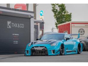 日産 GT-R プレミアムエディション LBシルエットワークス  GT 35GTRR コンプリート  マイアミブルー全塗装 ROHANA鍛造 AirREX Fiエキゾースト可変 ディーラーにてメーター交換、合計20000km(記録簿有)