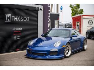 ポルシェ 911 911カレラ4S 後期スワップ カップ外装カスタム 左ハンドル MT AGIO鍛造NMF STOPTECHトロフィーブレーキ JRZ別タンク足廻り RECAROシートRMS OMPステアリング センター出しマフラー