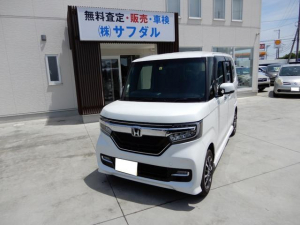 ホンダ N-BOXカスタム G・Lホンダセンシング 4WD ナビ Bカメラ 左電動ドア