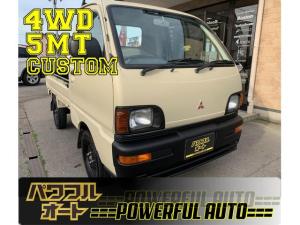 三菱 ミニキャブトラック TS 4WD 5MT 全塗装済 走行25000k 車内抗菌