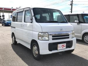 ホンダ バモス L 4WD CD キーレス エアコン パワステ PW