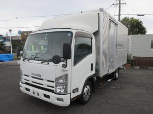 いすゞ エルフトラック ワイド ロング FFL アルミバン 積載2t