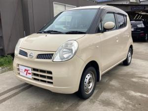 日産 モコ E FOUR 4WD インテリジェントキー HDDナビ オートエアコン 電動格納ミラー ベンチシート