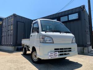 ダイハツ ハイゼットトラック DX 4WD 5MT エアコン パワステ 三方開 軽トラック ホワイト