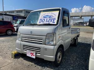 スズキ キャリイトラック  5速マニュアル車 4WD 軽トラ エアコン パワステ オーディオ