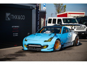 日産 フェアレディZ ベースグレード フルカスタム ETC 17インチAW キーレス MT車 電動格納ミラー 盗難防止システム 衝突安全ボディ ABS ローダウン