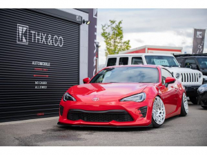 トヨタ 86 GT T-DEMAND車高調 USEKAヘッドライト レクソンクリアテール wciホイール リヤ社外アーム トラストFパイプ スリーキャッツマフラー indicatorメーター ボディワーク