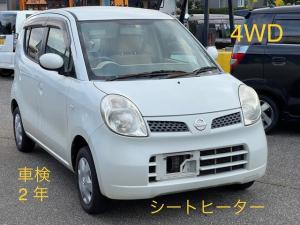 日産 モコ S FOUR 4WD  シートヒーター キーレス CD FM AM 禁煙車 ABS