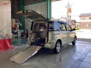 トヨタ シエンタ X 車いす仕様車 タイプ1 スロープタイプ 電動固定装置付 メモリーナビ フルセグ バックカメラ 片側パワスラ