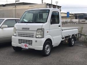 スズキ キャリイトラック KC 4WD AC MT 軽トラック ホワイト