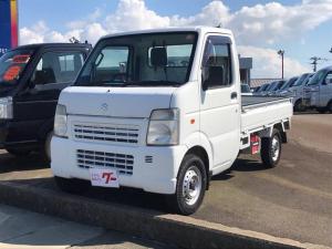 スズキ キャリイトラック KU 4WD AC MT 軽トラック ホワイト