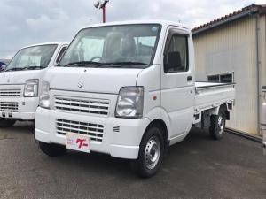 スズキ キャリイトラック KCエアコン・パワステ 4WD AC AT 修復歴無 軽トラック ホワイト