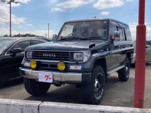 トヨタ ランドクルーザープラド SX 4WD ETC ターボ CD MT 3列シート 記録簿