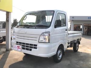 スズキ キャリイトラック 4WD AC AT 軽トラック 2名乗り ホワイト