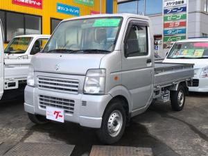 スズキ キャリイトラック KU 4WD AC MT 軽トラック シルバー