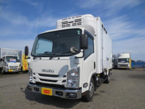 いすゞ エルフトラック  3t 冷蔵冷凍車ゲート付
