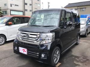 ホンダ N-BOXカスタム G・Lパッケージ ナビTV 左パワスラ 14タイヤ新品