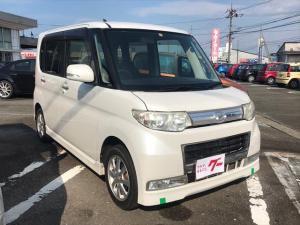 ダイハツ タント カスタムX ナビ 軽自動車 パールホワイトIII AT AC