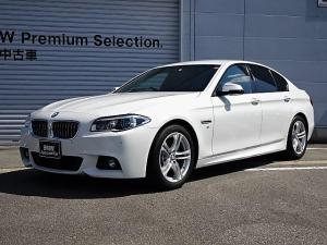 BMW 5シリーズ 523d Mスポーツ 認定中古車 黒レザー LED ACC