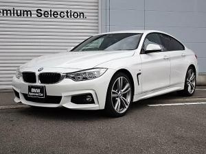 BMW 4シリーズ 420iグランクーペ Mスポーツ 黒レザー ACC LED