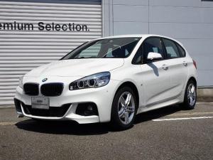 BMW 2シリーズ 218dアクティブツアラー Mスポーツ 2年保証 純正ナビ