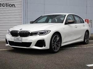 BMW 3シリーズ M340i xDrive 認定中古車 アクティブクルーズコントロール ヘッドアップディスプレイ リバースアシスト 純正19インチアロイホイール 全周囲カメラ レーザーライト 純正HDDナビ ミラー内蔵型ETC